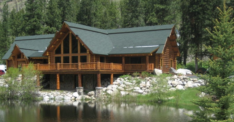 Lakeside Home, Cabins, Houses, Log Home, Custom, Design, Master Log Homes