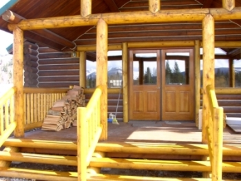 Master log homes for Butt and pass log cabin kits